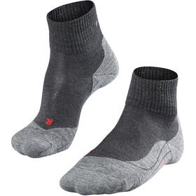 Falke TK5 Short Trekking Socks Men asphalt melange